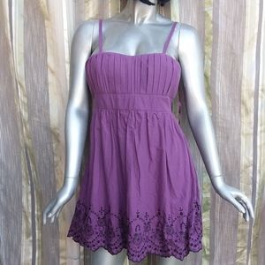 SALE 5 ITEMS for $30 Large Fit/Flare Dress Purple